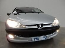 2005 Peugeot 206 T1 MY04 XT Silver 4 Speed Sports Automatic Hatchback Braeside Kingston Area Preview