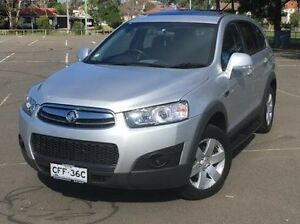 2013 Holden Captiva CG Series II MY12 7 SX Silver 6 Speed Sports Automatic Wagon Kings Park Blacktown Area Preview
