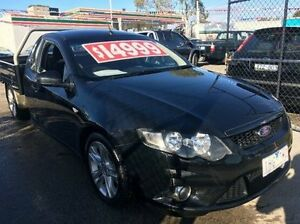 2009 Ford Falcon FG XR6 Super Cab Black 5 Speed Sports Automatic Cab Chassis Carrum Downs Frankston Area Preview