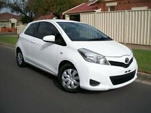 2012 Toyota Yaris NCP130R YR Blue 4 Speed Automatic Hatchback Nailsworth Prospect Area Preview
