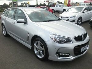 2016 Holden Commodore VF II MY16 SV6 Sportwagon Silver 6 Speed Sports Automatic Wagon Coolaroo Hume Area Preview