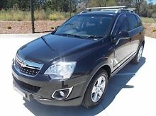 2011 Holden Captiva CG Series II 5 Black 6 Speed Manual Wagon Mitchell Bathurst City Preview