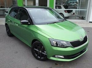 2016 Skoda Fabia NJ MY17 81TSI DSG Green 7 Speed Sports Automatic Dual Clutch Hatchback Mount Gravatt Brisbane South East Preview