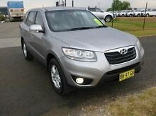 2010 Hyundai Santa Fe CM MY10 SLX Grey 6 Speed Sports Automatic Wagon Singleton Singleton Area Preview