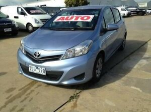2011 Toyota Yaris NCP130R YR Glacier 4 Speed Automatic Hatchback Melton Melton Area Preview