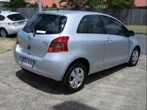 2007 Toyota Yaris NCP90R YR Silver 4 Speed Automatic Hatchback Wynnum Brisbane South East Preview