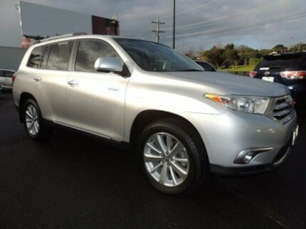 2011 Toyota Kluger GSU45R MY11 Grande AWD Silver 5 Speed Sports Automatic Wagon Oakleigh Monash Area Preview