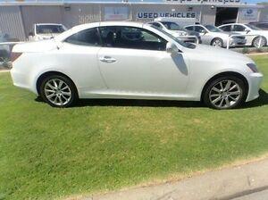 2010 Lexus IS250 C GSE20R MY10 Sports White 6 Speed Sports Automatic Convertible Mandurah Mandurah Area Preview