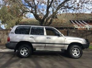 2001 Toyota Landcruiser FZJ105R GXL Silver 4 Speed Automatic Wagon Hove Holdfast Bay Preview
