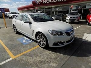2014 Holden Calais VF MY14 V White 6 Speed Sports Automatic Sedan Gateshead Lake Macquarie Area Preview