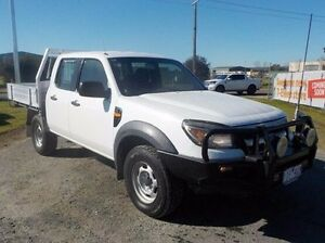 2011 Ford Ranger White Manual Cab Chassis Pakenham Cardinia Area Preview