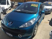 2007 Peugeot 207 A7 XT HDI Blue 5 Speed Manual Hatchback St James Victoria Park Area Preview