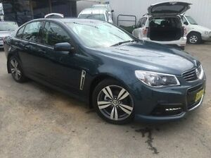 2013 Holden Commodore VF MY14 SV6 Blue 6 Speed Manual Sedan Wodonga Wodonga Area Preview