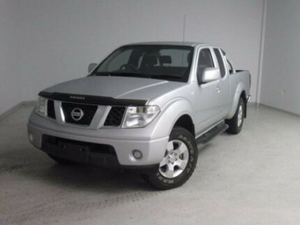 2012 Nissan Navara  Silver Automatic Utility Mount Gambier Grant Area Preview