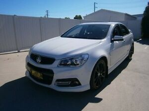 2013 Holden Commodore VF MY14 SS V Redline White 6 Speed Manual Sedan Mitchell Bathurst City Preview