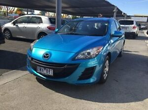 2010 Mazda 3 BL10F1 MY10 Neo Blue 6 Speed Manual Hatchback Maidstone Maribyrnong Area Preview