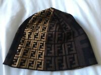 Fendi Zucca Bucket Hat in shades of brown - NEW