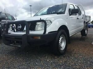 2011 Nissan Navara D40 MY11 RX White 5 Speed Automatic Cab Chassis Berrimah Darwin City Preview