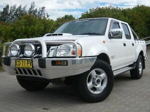 2011 Nissan Navara D22 S5 ST-R White 5 Speed Manual Utility Windsor Hawkesbury Area Preview