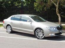 2011 Skoda Superb 3T MY11 Elegance DSG 191FSI Beige 6 Speed Sports Automatic Dual Clutch Sedan South Melbourne Port Phillip Preview
