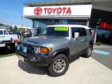 2011 Toyota FJ Cruiser GSJ15R Silver 5 Speed Automatic Wagon Robina Gold Coast South Preview