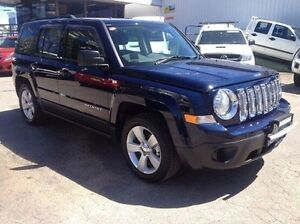 2013 Jeep Patriot MK MY14 Sport 4x2 Blue 5 Speed Manual Wagon Wodonga Wodonga Area Preview