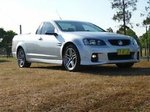 2011 Holden Ute VE II MY12 SV6 Silver 6 Speed Sports Automatic Utility Singleton Singleton Area Preview