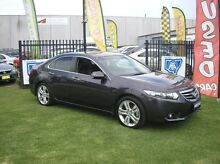2011 Honda Accord Euro CU MY12 Luxury Black 5 Speed Automatic Sedan Minto Campbelltown Area Preview