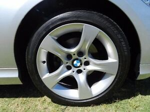 2011 BMW 320i E90 MY11 Lifestyle Steptronic Silver 6 Speed Sports Automatic Sedan Victoria Park Victoria Park Area Preview