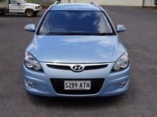 2012 Hyundai i30 FD MY11 SX cw Wagon Blue 4 Speed Automatic Wagon Mount Gambier Grant Area Preview