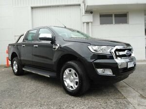 2016 Ford Ranger PX MkII XLT Double Cab Black 6 Speed Manual Utility Bundoora Banyule Area Preview