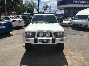 1994 Toyota Hilux LN106R White 5 Speed Manual Utility Wodonga Wodonga Area Preview