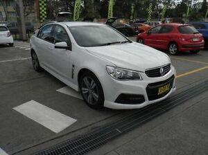 2014 Holden Commodore VF MY14 SV6 White 6 Speed Sports Automatic Sedan Gateshead Lake Macquarie Area Preview