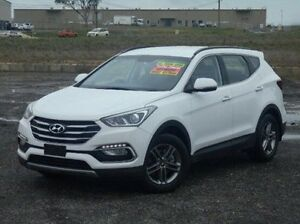 2016 Hyundai Santa Fe DM3 MY16 Active White 6 Speed Sports Automatic Wagon Run-o-waters Goulburn City Preview