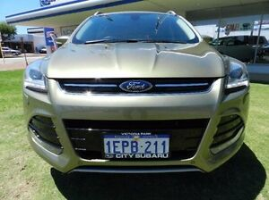 2013 Ford Kuga TF Titanium AWD Green 6 Speed Sports Automatic Wagon Victoria Park Victoria Park Area Preview