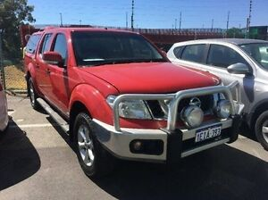 2013 Nissan Navara D40 S6 MY12 ST Red 5 Speed Sports Automatic Utility Edgewater Joondalup Area Preview