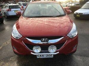 2012 Hyundai ix35 Red Sports Automatic Wagon Wodonga Wodonga Area Preview