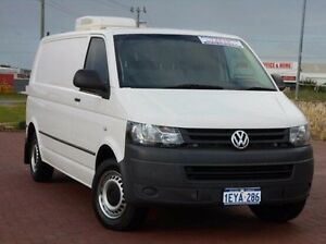 2010 Volkswagen Transporter T5 MY11 Low Roof LWB White 6 Speed Manual Van Spearwood Cockburn Area Preview