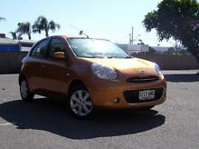 2011 Nissan Micra K13 TI Orange 5 Speed Manual Hatchback Morphett Vale Morphett Vale Area Preview
