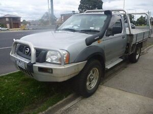 2006 Nissan Navara D22 MY2003 DX Silver 5 Speed Manual Cab Chassis Fawkner Moreland Area Preview