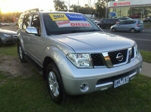 2006 Nissan Pathfinder R51 ST-L Silver 6 Speed Manual Wagon Ferntree Gully Knox Area Preview