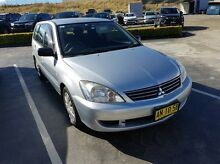 2006 Mitsubishi Lancer CH MY07 ES Silver 4 Speed Auto Sports Mode Wagon Taylors Beach Port Stephens Area Preview