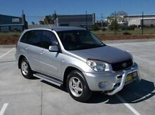 2005 Toyota RAV4 ACA22R CV Silver 4 Speed Automatic Hardtop Mitchell Bathurst City Preview