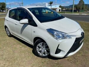 2019 Toyota Yaris NCP130R MY18 Ascent White 4 Speed Automatic Hatchback Dapto Wollongong Area Preview