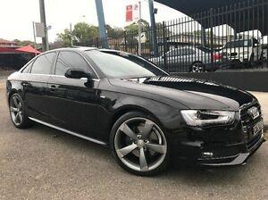 2012 Audi A4 B8 8K MY13 S tronic quattro Black 7 Speed Sports Automatic Dual Clutch Sedan Summer Hill Ashfield Area Preview