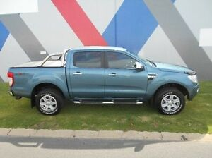 2013 Ford Ranger PX XLT Double Cab Blue 6 Speed Manual Utility Bunbury Bunbury Area Preview