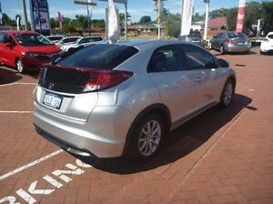 2014 Honda Civic 9th Gen MY14 VTi-S Silver 5 Speed Sports Automatic Hatchback Myaree Melville Area Preview
