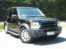 2008 Land Rover Discovery 3 Series 3 09MY HSE Black 6 Speed Sports Automatic Wagon South Melbourne Port Phillip Preview