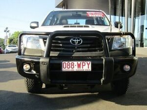 2011 Toyota Hilux KUN26R MY12 Workmate Double Cab White 5 Speed Manual Utility Earlville Cairns City Preview