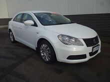 2012 Suzuki Kizashi FR MY11 Touring White 6 Speed Constant Variable Sedan Invermay Launceston Area Preview